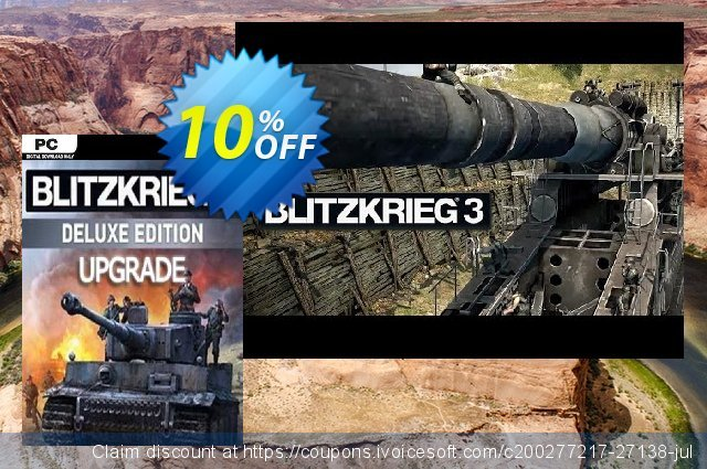 Blitzkrieg 3 Digital Deluxe Edition Upgrade PC 惊人 产品销售 软件截图