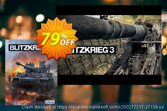 Blitzkrieg 3 PC discount 76% OFF, 2021 Spring offering sales