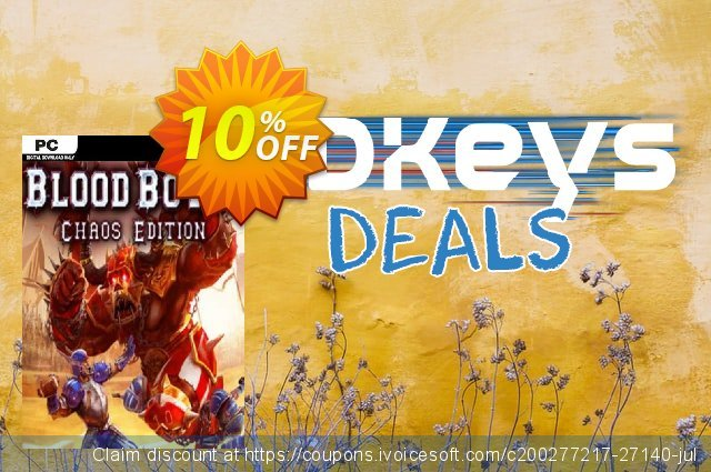 Blood Bowl Chaos Edition PC discount 10% OFF, 2020 Thanksgiving Day promo sales
