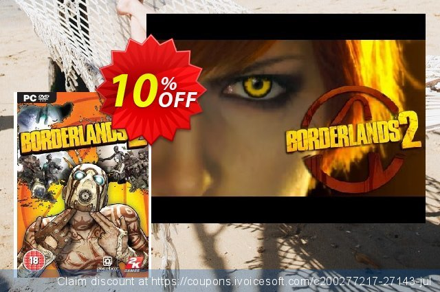 Borderlands 2 (PC) discount 10% OFF, 2020 New Year's Day offering sales