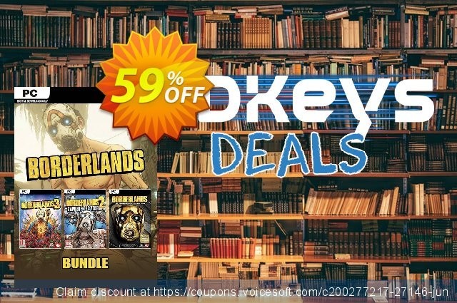 Borderlands Bundle PC discount 59% OFF, 2020 Thanksgiving Day offering sales
