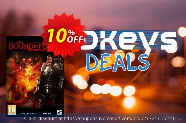 Bound By Flame PC discount 10% OFF, 2020 Thanksgiving Day offering sales
