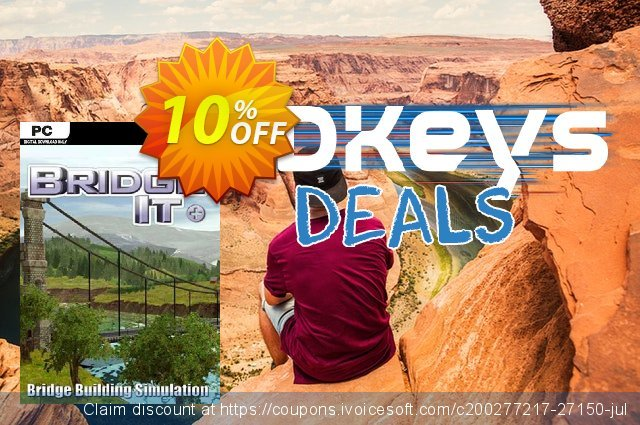 Bridge It + PC discount 10% OFF, 2020 University Student offer offering sales