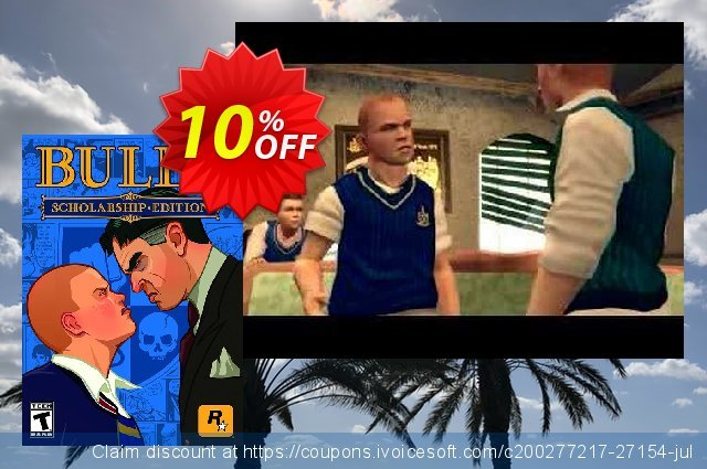 Bully: Scholarship Edition PC discount 10% OFF, 2020 Thanksgiving offer