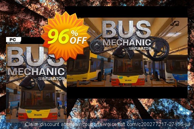 Bus Mechanic Simulator PC discount 60% OFF, 2020 Black Friday offering discount