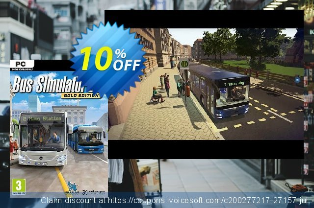 Bus Simulator 16 PC discount 10% OFF, 2020 Thanksgiving offering sales