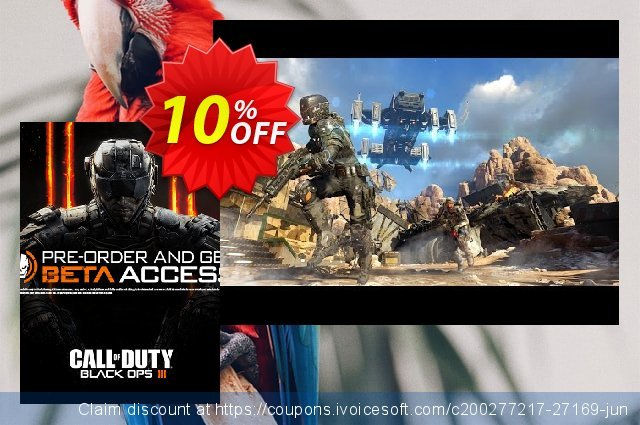 Call of Duty (COD): Black Ops III 3 + Beta Access (PC) discount 10% OFF, 2020 Halloween offering sales
