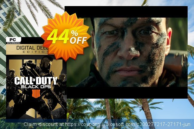 Call of Duty (COD) Black Ops 4 Deluxe Edition PC (EU) 대단하다  가격을 제시하다  스크린 샷