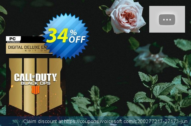 Call of Duty (COD) Black Ops 4 Deluxe Enhanced Edition PC (APAC) 令人吃惊的 促销销售 软件截图
