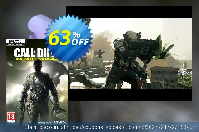 Call of Duty (COD) Infinite Warfare PC (APAC) discount 10% OFF, 2020 Black Friday offering sales