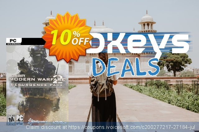 Call of Duty Modern Warfare 2 Resurgence Pack PC discount 10% OFF, 2020 Thanksgiving offering sales