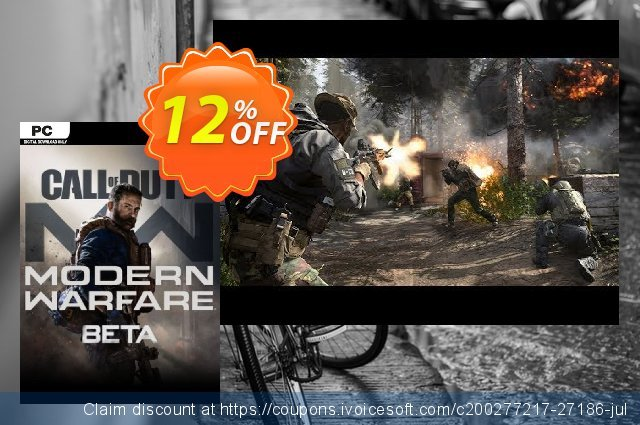 Call of Duty Modern Warfare Beta PC discount 11% OFF, 2020 Black Friday offering sales