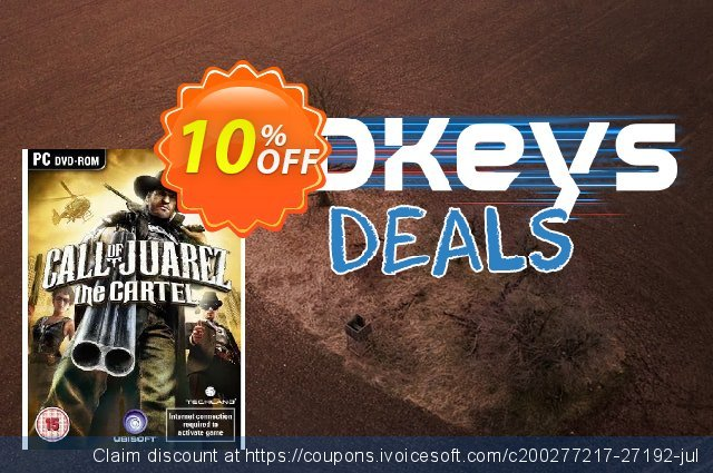 Call of Juarez - The Cartel (PC) discount 10% OFF, 2020 Black Friday offer