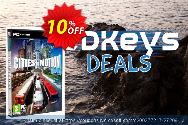 Cities In Motion (PC) discount 10% OFF, 2020 Thanksgiving promotions