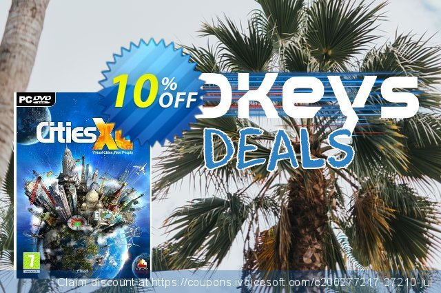 Cities XL (PC) discount 10% OFF, 2020 Year-End offer