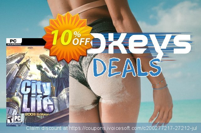 City Life 2008 PC discount 10% OFF, 2020 Thanksgiving Day discount