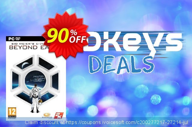 Civilization Beyond Earth PC discount 80% OFF, 2020 Thanksgiving offering sales