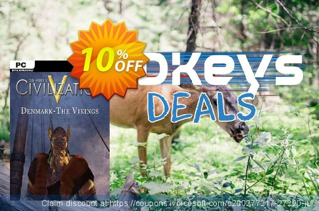 Civilization V Civ and Scenario Pack Denmark (The Vikings) PC  최고의   가격을 제시하다  스크린 샷