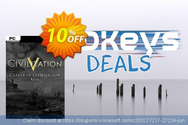 Civilization V Cradle of Civilization Map Pack Asia PC discount 10% OFF, 2020 Thanksgiving Day offering sales
