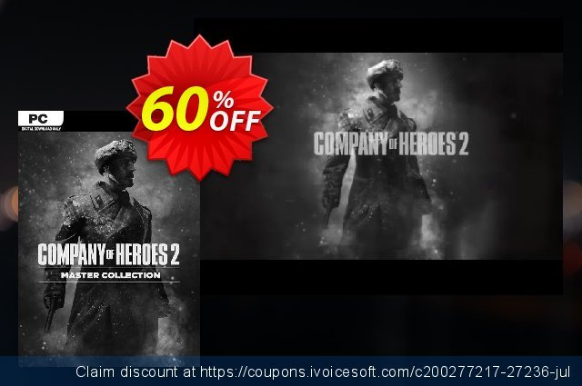 Company of Heroes 2 Master Collection PC discount 76% OFF, 2020 Thanksgiving Day promo