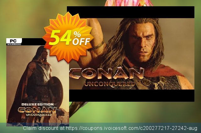 Conan Unconquered Deluxe Edition PC  신기한   세일  스크린 샷