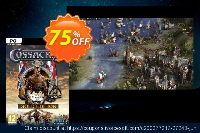 Cossacks 3 - Gold Edition PC discount 70% OFF, 2020 Thanksgiving Day deals