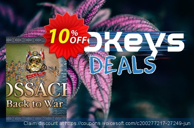 Cossacks Back to War PC discount 10% OFF, 2020 Black Friday offer