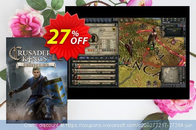 Crusader Kings II 2 PC Collection DLC  경이로운   촉진  스크린 샷