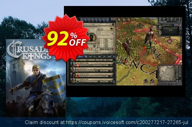 Crusader Kings II 2 - PC discount 73% OFF, 2021 Spring promo