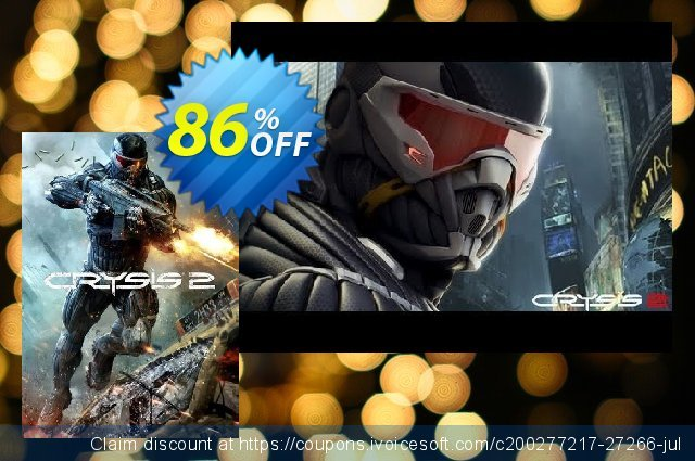 Crysis 2 PC discount 80% OFF, 2020 Christmas deals