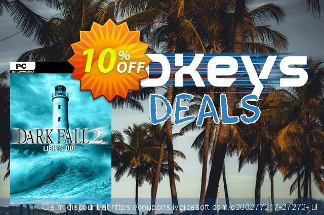 Dark Fall 2 Lights Out PC discount 10% OFF, 2020 End year promo sales
