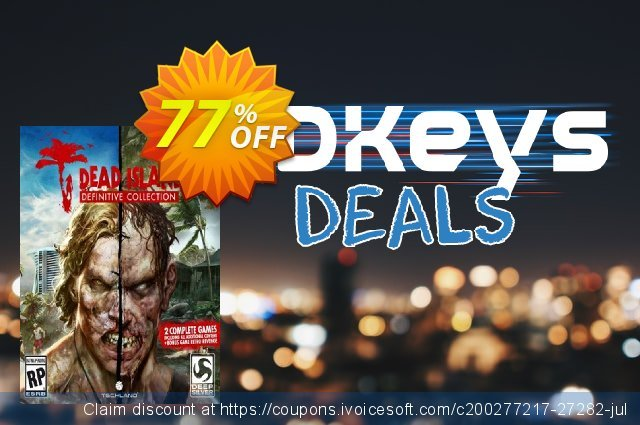 Dead Island Definitive Collection PC discount 54% OFF, 2020 Year-End discounts