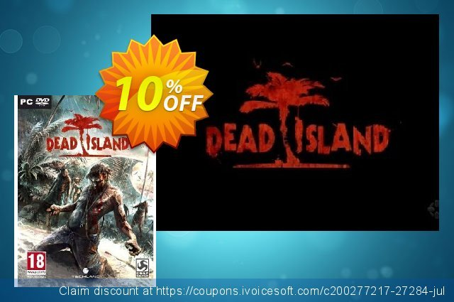 Dead Island (PC) discount 10% OFF, 2020 Christmas sales