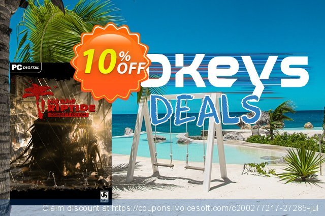 Dead Island Riptide Complete Edition PC discount 10% OFF, 2021 New Year's Weekend offering sales