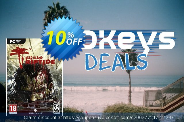 Dead Island Riptide (PC) discount 10% OFF, 2020 Thanksgiving Day offer