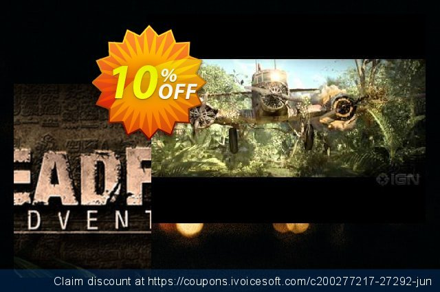 Deadfall Adventures PC discount 10% OFF, 2020 Thanksgiving promo sales