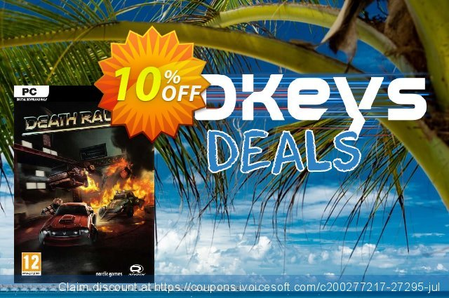 Death Rally PC discount 10% OFF, 2020 Christmas & New Year offering sales