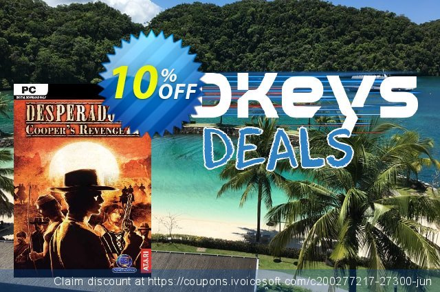 Desperados 2 Cooper's Revenge PC discount 10% OFF, 2020 College Student deals offering sales