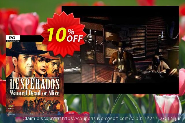Desperados Wanted Dead or Alive PC discount 10% OFF, 2020 College Student deals offering sales