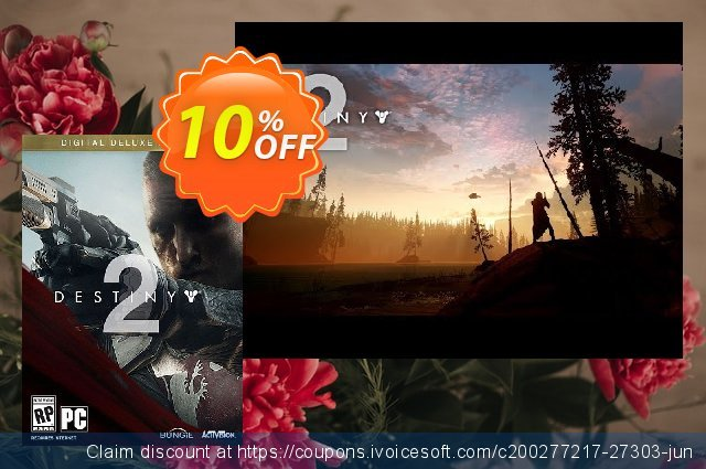 Destiny 2 Digital Deluxe Edition PC (US) discount 10% OFF, 2020 Black Friday promotions