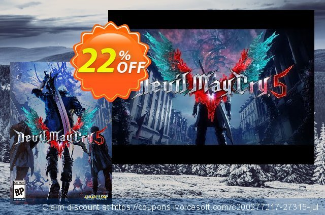 Devil May Cry 5 PC + DLC discount 22% OFF, 2020 Student deals offering sales