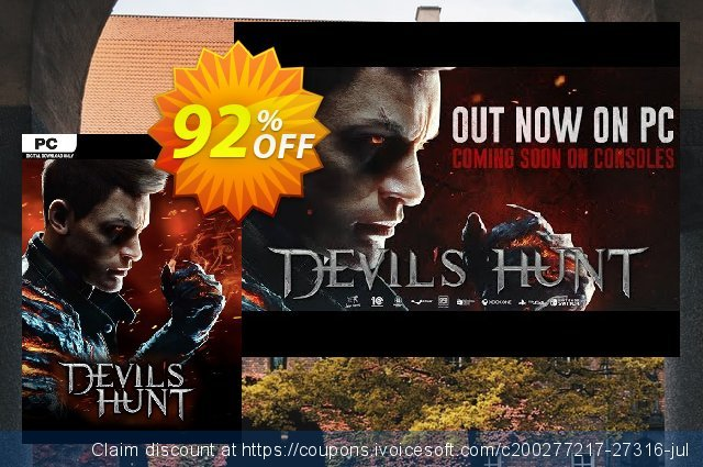 Devil's Hunt PC discount 52% OFF, 2020 Xmas Day offering sales