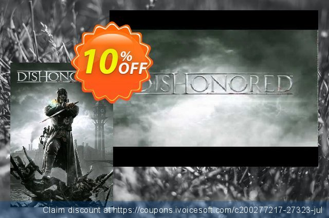 Dishonored (PC) discount 10% OFF, 2020 Thanksgiving Day sales