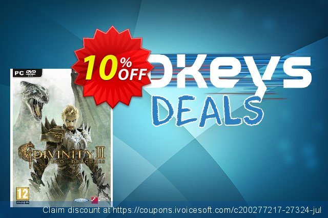 Divinity 2 (PC) discount 10% OFF, 2020 Black Friday deals