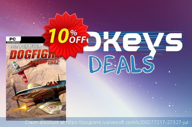 Dogfight 1942 Fire Over Africa PC discount 10% OFF, 2021 New Year's Weekend offering sales