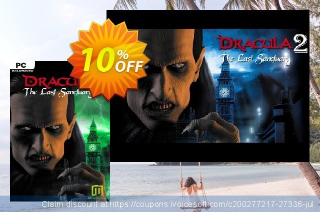 Dracula 2 The Last Sanctuary PC discount 10% OFF, 2020 Black Friday offering sales