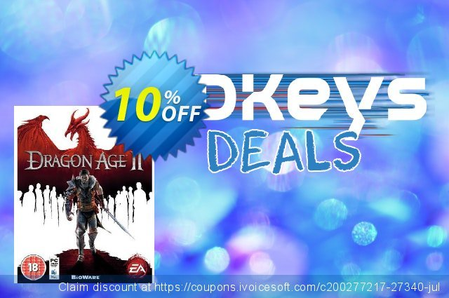 Dragon Age 2 (PC) discount 20% OFF, 2020 Thanksgiving discounts