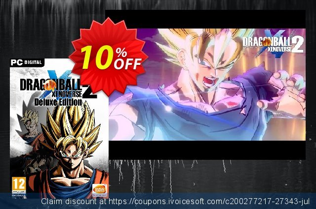Dragon Ball Xenoverse 2 - Deluxe Edition PC 惊人的 折扣 软件截图
