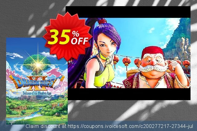 Dragon Quest XI: Echoes of an Elusive Age PC discount 35% OFF, 2020 Thanksgiving Day offer