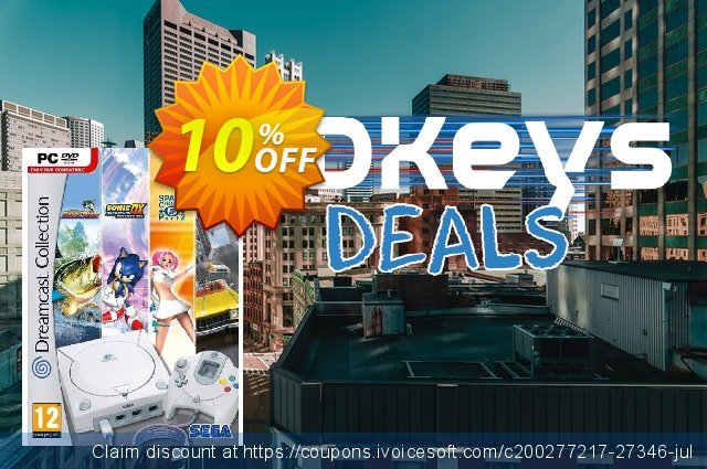 Dreamcast Collection (PC) discount 10% OFF, 2020 Thanksgiving offering discount